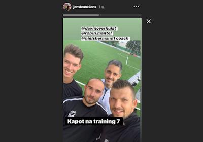 """Sans club, les gardiens Teunckens et Verhulst unissent leurs forces : """"Ne pas être à la traîne"""""""