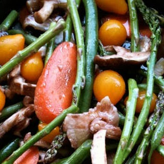Easy Cider Roasted Vegetables - Vegan and Gluten-Free