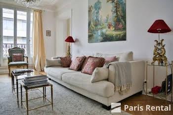 Appartement meublé 4 pièces 117 m2