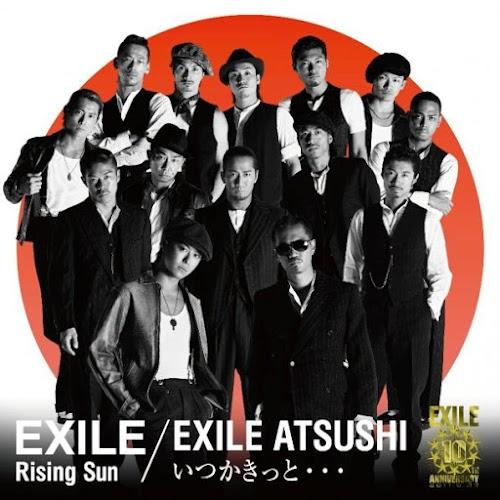 """Capa do single """"Rising Sun/Itsuka Kitto..."""" – CD+DVD Edition."""