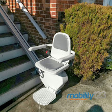 Photo: Outdoor Stairlift Church NJ