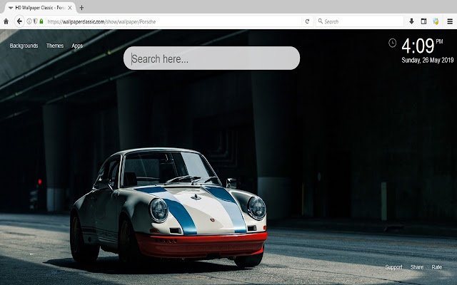 Porsche Wallpaper HD New Tab Themes