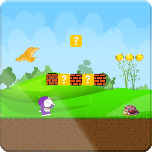 Super Doremon Run: Jungle Game