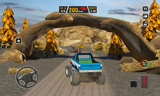 Offroad Dune Buggy Car Racing Outlaws: Mud Road 1.3 Mod screenshots 4