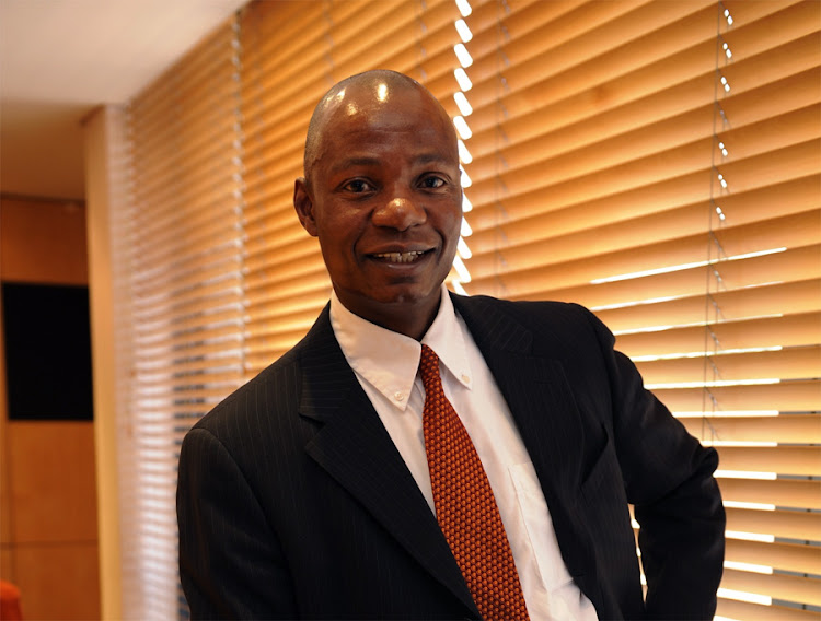 Vunani CEO Ethan Dube. Picture: FINANCIAL MAIL