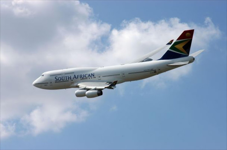 South African Airways plane. File Photo