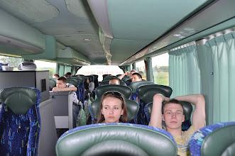Photo: Cestu do Berlína jsme si krátili sledováním filmů z videa.