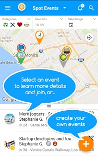 SPOT - Join & Create Events- screenshot thumbnail