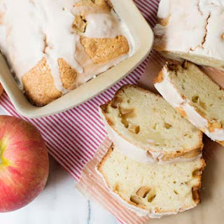 Apple Pound Cake with Rum Glaze