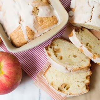 Apple Pound Cake with Rum Glaze