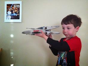 Photo: Clark's X-Wing!