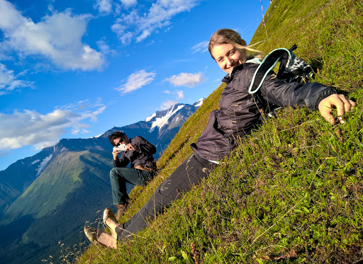 11 WP_20150805_19_13_56_Pro.jpg - An Alaskan perspective. We hiked down Mount Aleyska just as the sun was setting at 11 pm