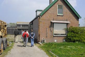 Photo: aanzicht van de oude boerderij op oprit vanaf Sleepseweg