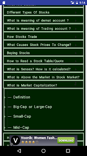 Stock & Share Market Guide - náhled