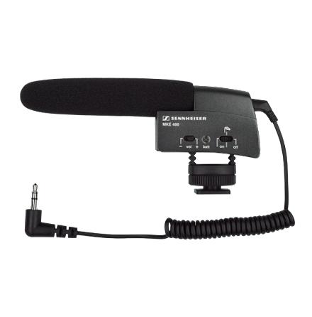 Microphone shotgun MKE 400 shoemount