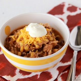 Slow Cooker Southwest Chicken Chili.