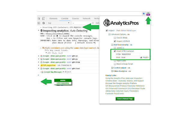 Analytics Pros - dataLayer Inspector+