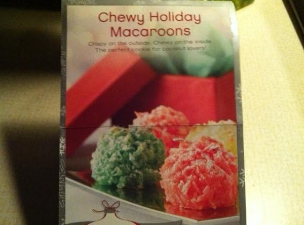 Chewy Holiday Macaroons Recipe