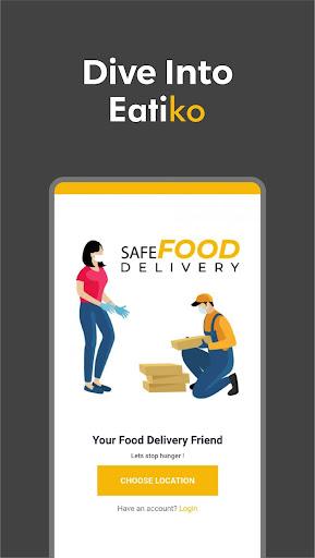 Eatiko - Screenshots von Food Delivery & Restaurant Finder 1