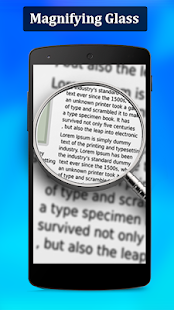 Magnifier , Magnifying Glass with Flash Light Screenshot