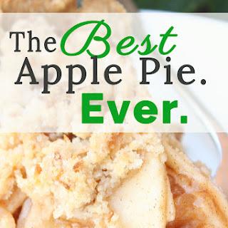 The Best Apple Pie. Ever..