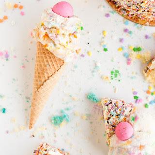 A Birthday Cake Ice Cream Recipe