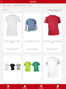 Crossfire T Shirts- screenshot thumbnail