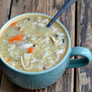 Homemade Chicken Soup.