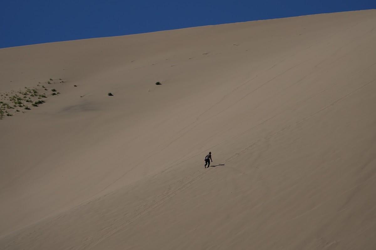 Patricia randonnée vers le haut