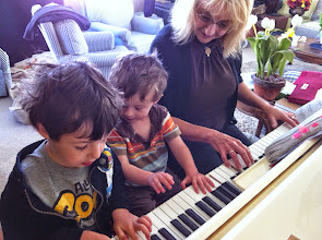 Photo: Piano with Grandma
