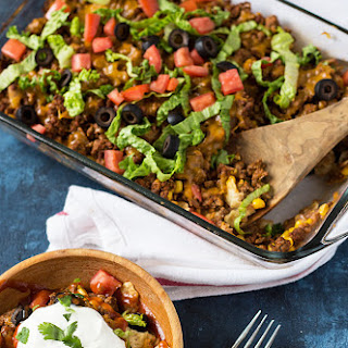 Cheesy Beef Taco Bake Recipes