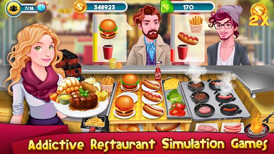 télécharger jeux de cuisine story chef business restaurant apk+mod