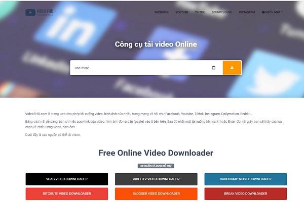 Ứng dụng hỗ trợ Instagram download miễn phí VIDEO FHD