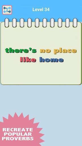 Word Shuffle: 諺語|玩拼字App免費|玩APPs