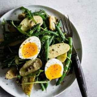 Tangy Green Bean and Potato Salad Recipe