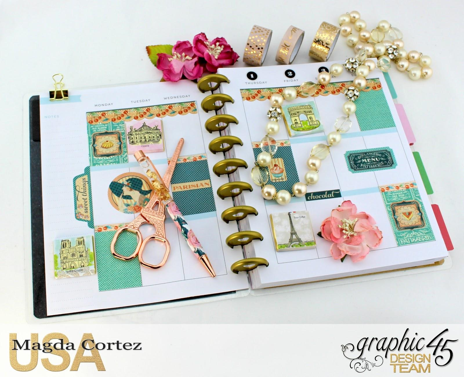 My G45 Planner 2017- Vintage Hollywood- By Magda Cortez- Product of Graphic 45- Photo 06 of 09- with Tutorial.jpg