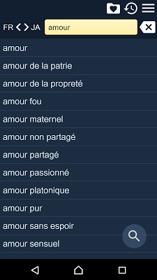 French Japanese Dictionary Fr - screenshot