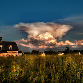 The Storm by Irene Orloff - Landscapes Weather