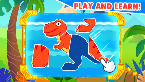 Dinosaur games for kids and toddlers 2 4 years old Apk 2