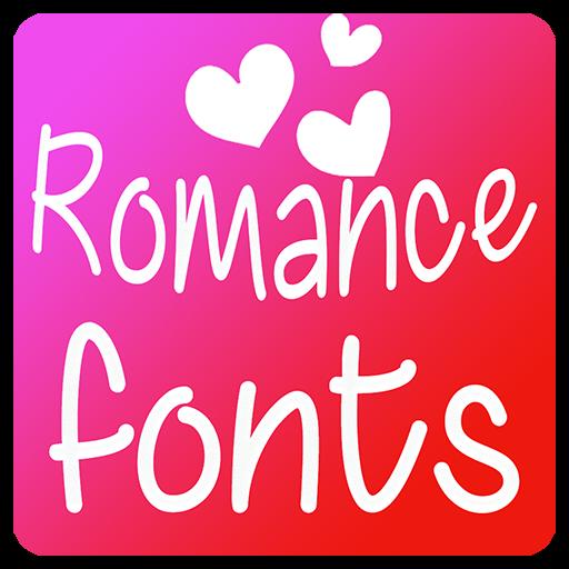 Romance Fonts for FlipFont