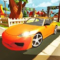 Driving Car Traffic Parking 3D icon