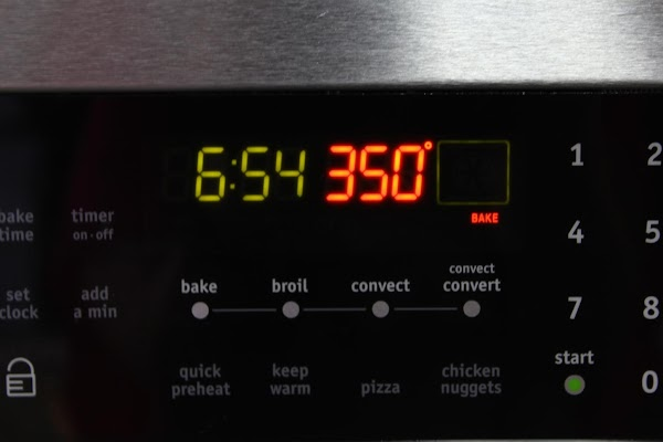 Pre-heat oven to 350 degrees.
