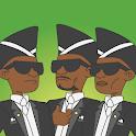 Dancing Pallbearers: Coffin dance meme game icon