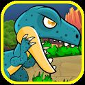 Dinosaur Classic Run fighting icon