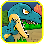 Dinosaur Classic Run fighting