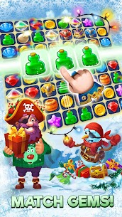 Pirates & Pearls – A Match 3 Pirate Puzzle Game MOD (Unlimited Lives) 1