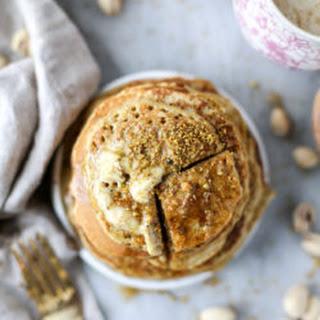 Pistachio Pancakes with Pistachio Butter Recipe