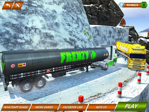 Offroad Oil Tanker Truck Transport Driver 1.6 screenshots 12