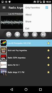 RADIO ARGENTINA screenshot 3