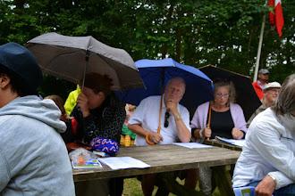 Photo: Paraplyerne blev taget i brug